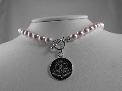 AKA Pearl Necklace - Alpha Kappa Alpha - The Sterling Link