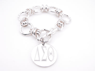 DST Hammered Knot Bracelet - Small
