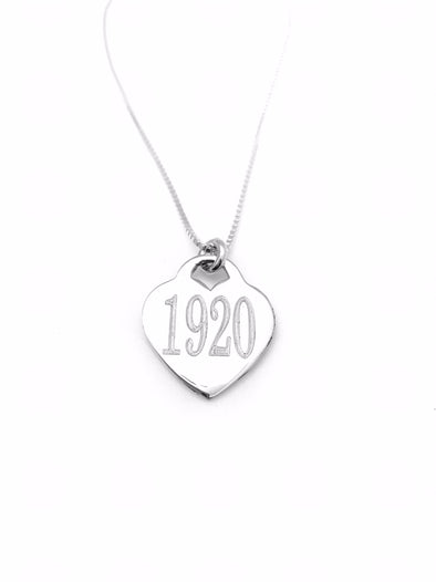 New! 1920 Heart Necklace