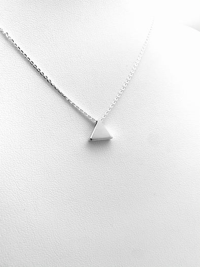 New! Tiny Pyramid Necklace