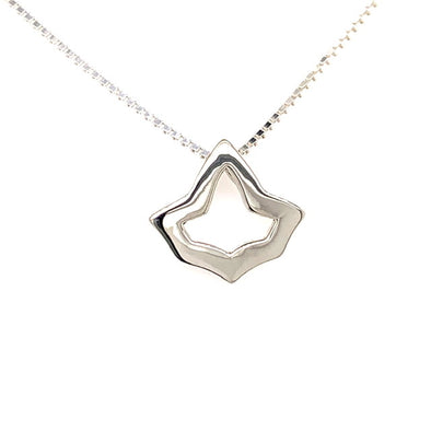Open Ivy Leaf Necklace - Extra Small