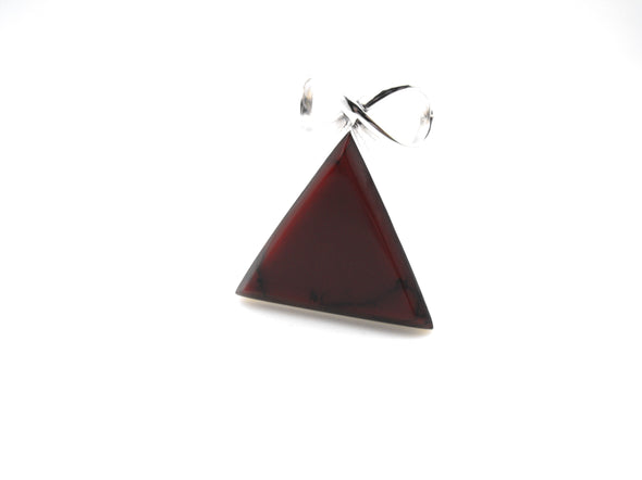 Red Pyramid Pendant - Large