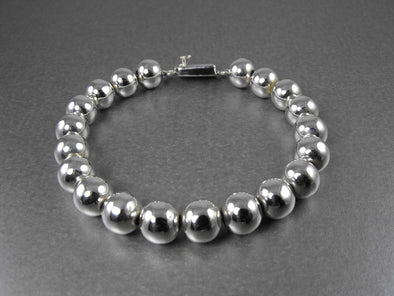 10mm Sterling Silver Bead Bracelet - What's New - The Sterling Link