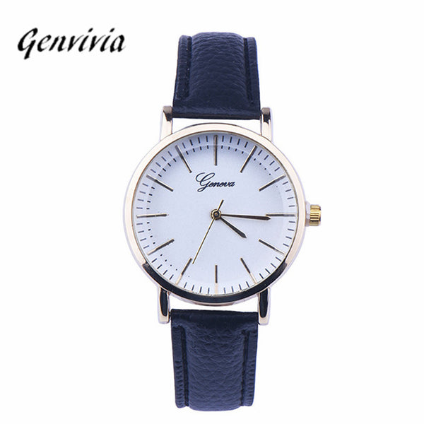 Genvivia Complete Calendar Other Wristwatches Couples Wristwatches Chinese Wrist Watch For Ladies Dress Watches Bracelet Watch