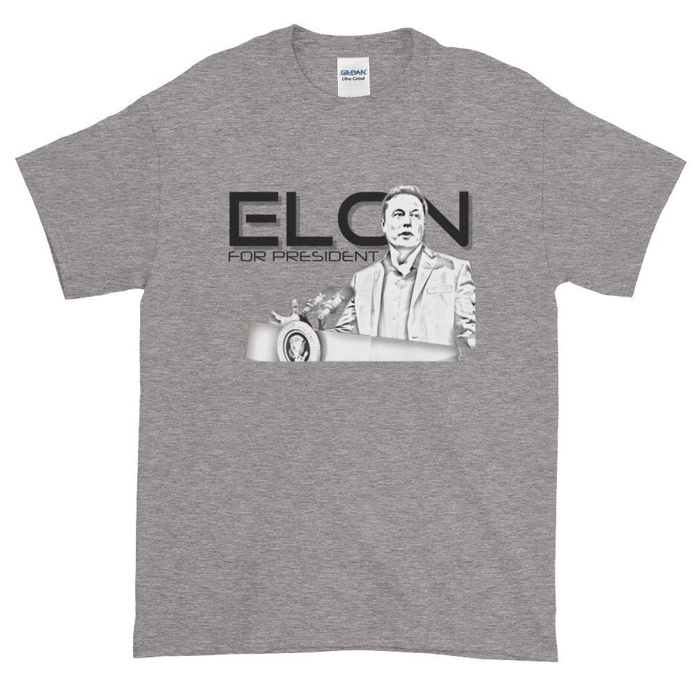 Elon for President | Short-Sleeve T-Shirt