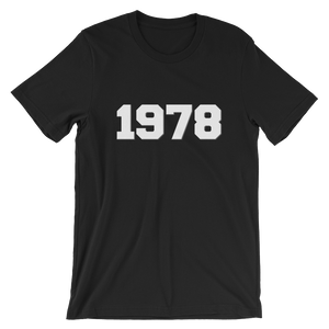 1978 - Short-Sleeve Unisex T-Shirt