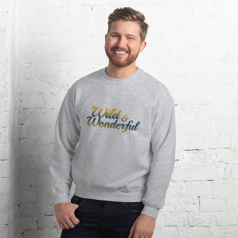 Wild & Wonderful Unisex Sweatshirt