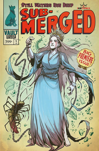 SUBMERGED #1 WIJNGAARD 5KIDCOMICS EXCLUSIVE