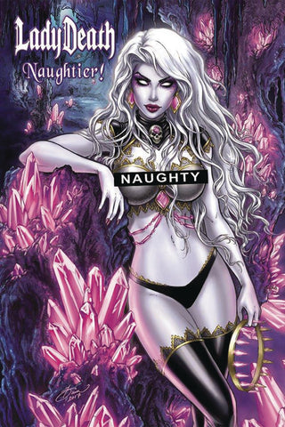 LADY DEATH NAUGHTIER LTD HC ARTBOOK CVR A MCTEIGUE (MR) - 5KidComics.com