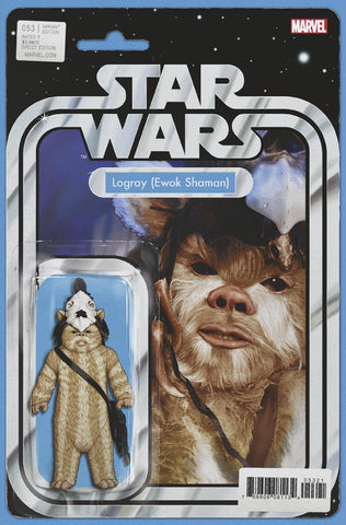 STAR WARS #53 CHRISTOPHER ACTION FIGURE VAR