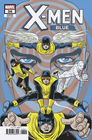 X-MEN BLUE #36 ALLRED FINAL ISSUE VAR - 5kidcomics.com