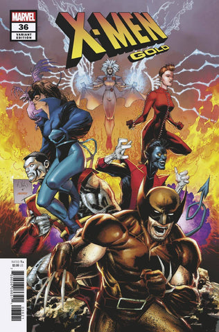 X-MEN GOLD #36 PORTACIO FINAL ISSUE VAR - 5kidcomics.com