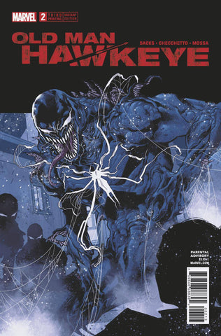 OLD MAN HAWKEYE #2 (OF 12) 3RD PTG CHECCHETTO VAR