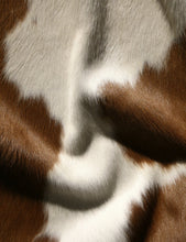 Brown & White Cowhide Rug