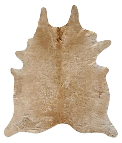 Wheat Cowhide Rug