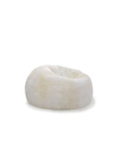 Mini Pouf Natural Ivory