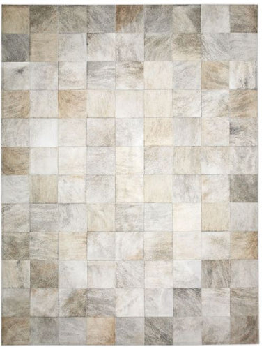 Park Light Brindle Cowhide Rug