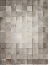 Park Heather Grey Cowhide Rug