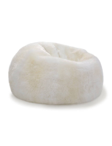 Pouf Chair Natural Ivory