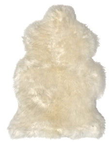Patagonian Sheepskin Hide in Natural Ivory
