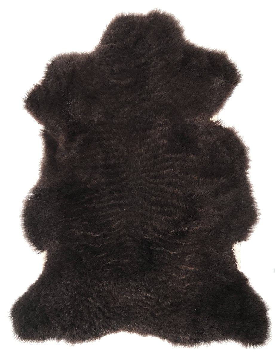 Patagonian Sheepskin Hide in Natural Brown