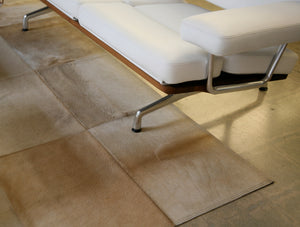 Mies Wheat Cowhide Rug