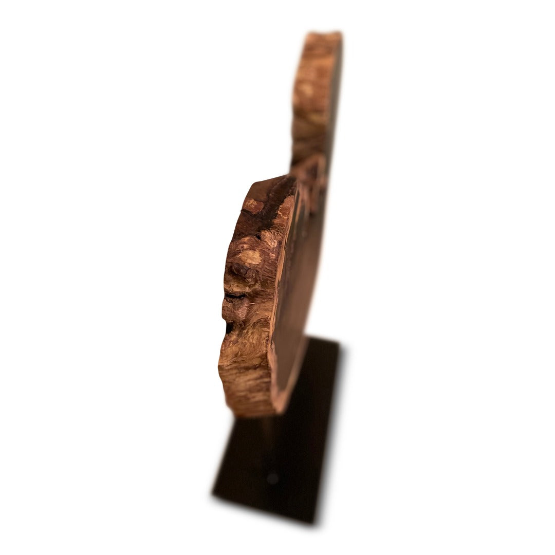 Handcrafted African Blackwood Sculpture