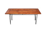 African Mahogany Dining Table - Handcrafted Furniture