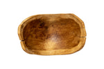 Table Centerpiece - Handcrafted Home Decor - Wooden Bowl