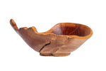 Handcrafted Wooden Bowl - Dining Table Centerpiece