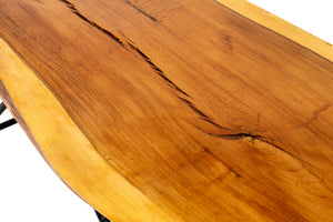Live Edge Coffee Table - Custom Wood Furniture - Handcrafted Furniture