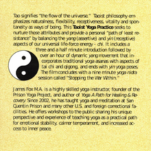 Taoist Yoga Practice with James Fox (DVD)