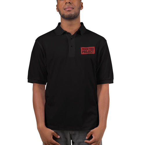 Men's Premium Polo w/ PYP Logo in Red