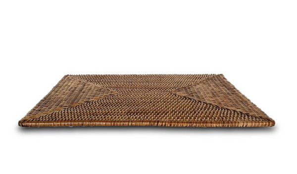 Rattan rectangle placemat