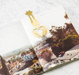 Bon Vivant Bookmark - Brass