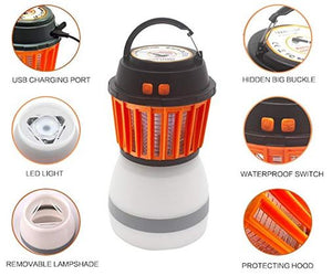 LED Bug Zapper and Lantern