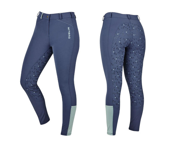 Dublin Gigi Full Grip Tech Breeches with Phone Pocket