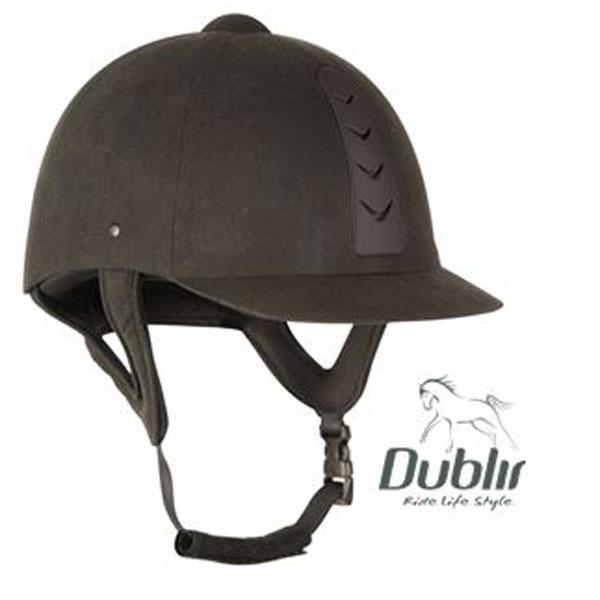 Dublin Silverline Black Helmet