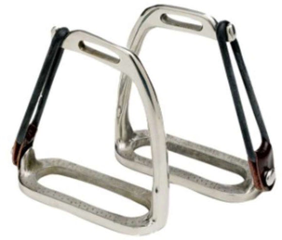 Childs English Peacock Safety Stirrup Irons