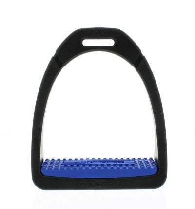 Composti Royal Blue Stirrup Irons