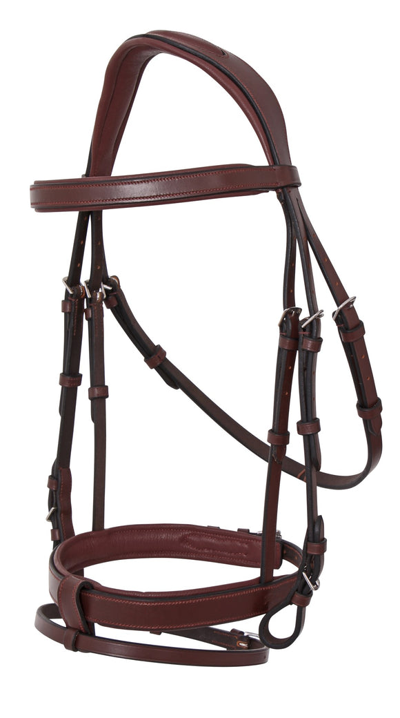 Platinum Anatomical Padded Bridle