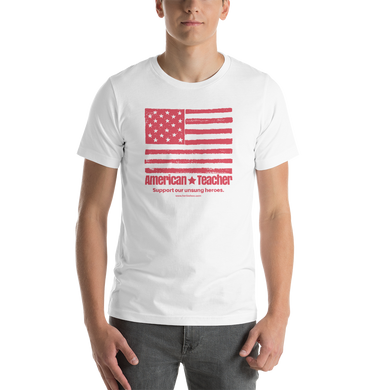 American Teacher - White - Men's - Short-Sleeve Unisex T-Shirt
