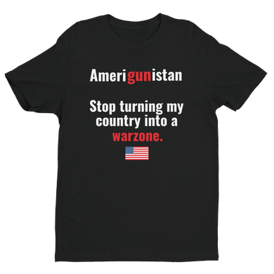 Amerigunistan - No Warzone T-Shirt - Men's Short Sleeve T-shirt