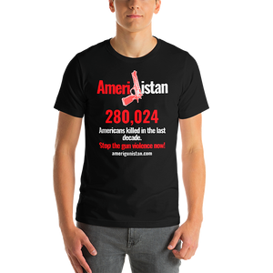 Amerigunistan - Stop the gun Violence tee - Men's - Short-Sleeve Unisex T-Shirt