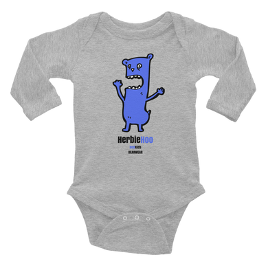 Big Blue Bearwear - Infant Long Sleeve Bodysuit