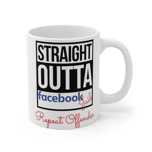 Facebook Jail Mug 11oz