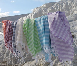 Pestemal Turkish Beach Towels