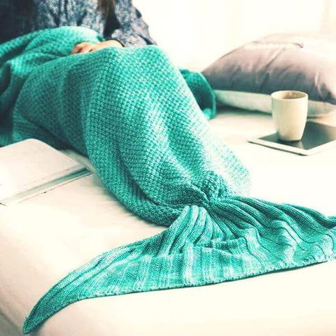 The Incredible Handmade Mermaid Blanket