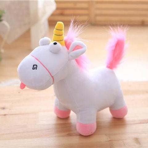 Goofy Unicorn Stuffed Animal