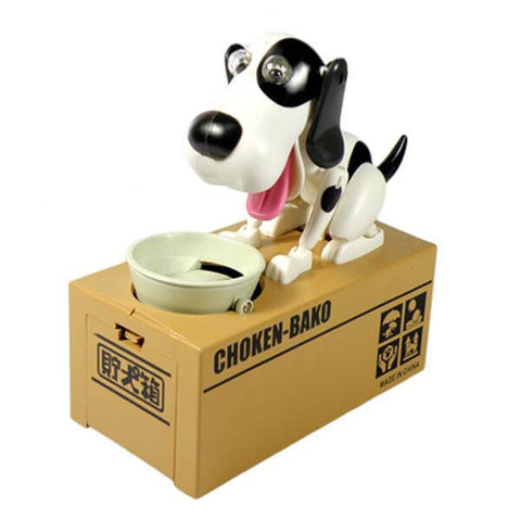Hungry Puppy Coin Bank